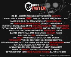 Wer von euch hat schon mal von Rake gehört?  #horrorfakten #horror #fakten