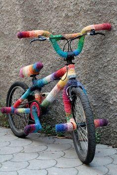 regenboog fiets,  rainbow bike