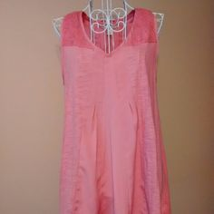 Top Lauren Conrad NWT Pleats with lace on top.  Beautiful color! Hangs very nice! Hi Low hem. Pair with your fav capri's and sandals! Lauren Conrad Tops Tunics