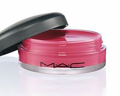 Mac Tinted Lip Conditioner in Petting Pink and Fushia Fix. LOVE LOVE have even used Fushia Fix on cheeks in a bind;)