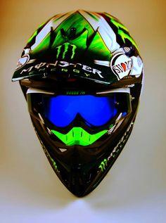 Monster Energy Suomy Dirt Bike Gear, Motocross Gear, Motorcycle Gear, Bike Helmets, Green Monsters, Monsters Inc, Downhill Bike, Bicycle Maintenance, Helmet Design