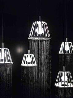 lsd mag deco design water dream light lampe douche nendo