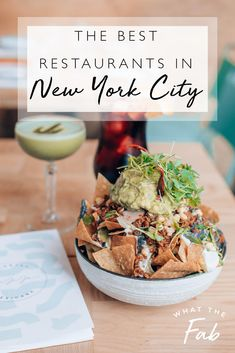 If you're planning a trip to New York City, finding a place to eat can the most challenging part! This guide has everything you need with a list of the best restaurants in the city places to eat in nyc | best places to eat in nyc | best restaurants in new york city | best restaurants in nyc | nyc food guide | nyc food restaurants | nyc foodie | foodie #placestoeatinnyc #bestplacestoeatinnyc #bestrestaurantsinnewyorkcity #bestrestaurantsinnyc #nycfoodguide #nycfoodrestaurants #nycfoodie #foodie
