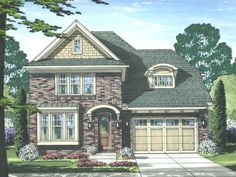 European Home Plan, 046H-0114
