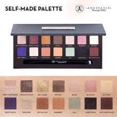 """A Roundup of Stunning Anastasia's New """"Self-Made Palette"""" Looks  Blog by Pampadour 
