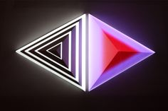 [PICTURES] Digital artist Dev Harlan combines sculptures and video mapping. Interactive Installation, Light Installation, Contemporary Sculpture, Contemporary Art, Projection Mapping, Art Base, Shape And Form, Silk Painting, Light Art