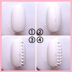 ニットネイル②の画像|100均ネイル★セルフネイル by 100nail|CROOZ blog Pedicure Nail Art, Manicure, Nail Art Modele, Acrylic Toe Nails, Nail Art Techniques, Sweater Nails, Pretty Nail Art, Glitter Nail Art, Nail Art Hacks