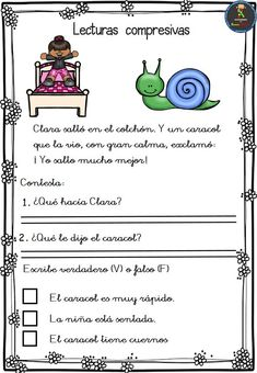 First Grade Reading Comprehension, Reading Fluency, Kindergarten Reading, Simple Sentences Worksheet, Bilingual Classroom, Text Evidence, Kids Learning Activities, Free Reading, Learning Spanish