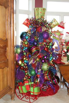 Colorful Kitchen Tree