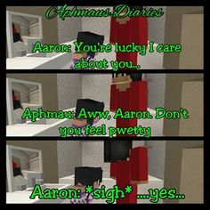 Oh Aaron. Don't you just love him?