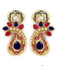 New Design of Earrings by Diva Jewellery. Complete Collection Available at: http://www.indiebazaar.com/shop/diva/earrings?sort=mr