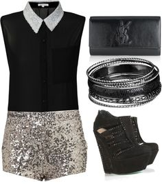"""Sparkling Sequins"" by ultimatequeenb on Polyvore"