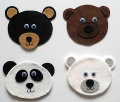 All Kinds of Bears – Felt Board Magic