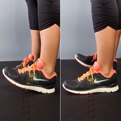this is for a morning workout or something, but i'm just pinning because I have these shoes