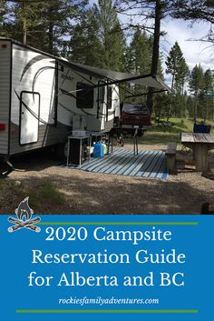 Everything you need to know to get your campsites booked across Alberta and BC provincial and national park campgrounds this summer. Kayak Camping, Camping Places, Camping Glamping, Campsite, Camping Hammock, Camping Tips, Family Camping, Family Travel, Waterton Lakes National Park