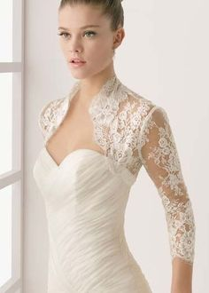 Wedding shrugs are so feminine and romantic...I'm thinking about wearing one at our reception to add a unique, vintage look.     Would you ...