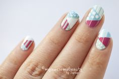 i might actually do fourth of july nails this year