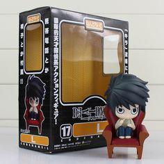 JP Anime Death Note Rem Lawliet Misa Ryuk Yagami Kira PVC Action Figure Toys DE Anime & Manga