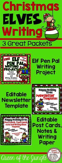 Christmas Newsletter Templates Editable Newsletter templates - new jungle powerpoint template