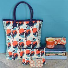 sac cabas Oranges Mr&Mrs Clynk - deco-graphic.com