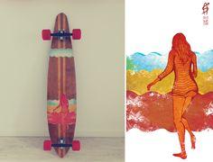 Take me to Hawaii / longboard design