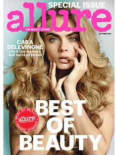 Cara Delevingne covers our annual Best of Beauty issue