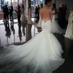 Gorgeous, Galia Lahav wedding dress back! www.Instagram.com/theknot