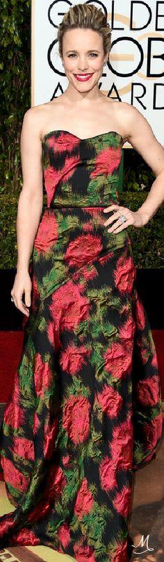 2016 Golden Globes Red Carpet Arrivals   Rachel McAdams in Lanvin