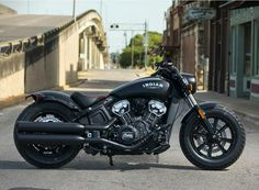 This stylish bobber includes a liquid cooled V-Twin engine and transmission making it great for beginners. Find price and colors for the 2020 Indian Scout Bobber Motorcycle. Motos Bobber, Bobber Bikes, Bobber Motorcycle, Cruiser Motorcycle, Motorcycle Design, Motorcycle Style, Motorcycle Humor, Motorcycle Girls, Moto Custom