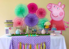Peppa Pig Birthday Party Ideas   Photo 4 of 51   Catch My Party
