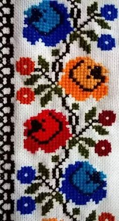 1 million+ Stunning Free Images to Use Anywhere Cross Stitch Boarders, Cross Stitch Art, Simple Cross Stitch, Cross Stitch Flowers, Cross Stitch Designs, Cross Stitch Patterns, Hand Embroidery Flowers, Beaded Embroidery, Cross Stitch Embroidery