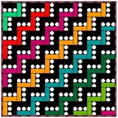 Image result for split square block quilt