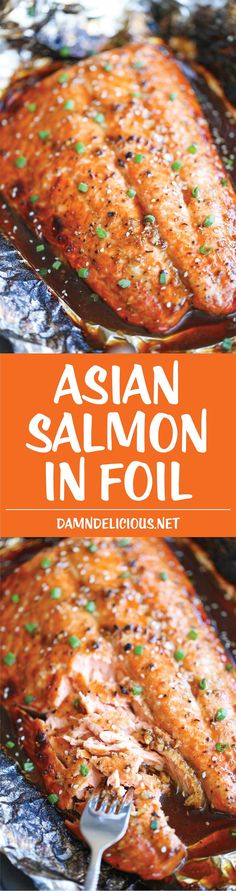 ... Salmon in Foil - The best and easiest way to make salmon in foil