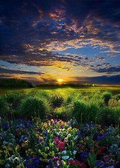 What a beautiful world. :)