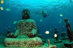 Have you ever heard about under water tample ? | Digi Dunia
