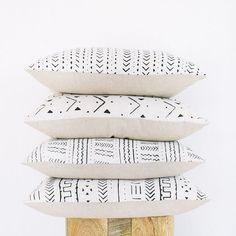 DIY Mud Cloth Pillow Cover