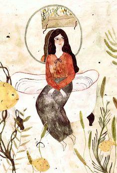 50 Fascinating Works of Angela Carter Fan Art | Literary Hub