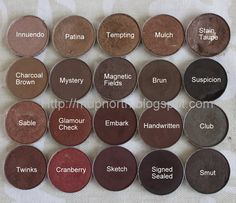 MupNorth: Mac Eyeshadow Swatches: Browns and Plums Beautiful shades for a beautiful look especially on you! Mac Eyeshadow Swatches, Makeup Swatches, Mac Eyeshadow Palette, Fall Makeup, Love Makeup, Deep Autumn Makeup, Stunning Makeup, All Things Beauty, Beauty Make Up