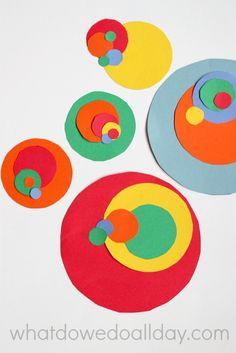 Preschool Art Projects, Math Projects, Art Activities For Kids, Art For Kids, Steam Activities, Steam Art, Spiral Art, Montessori Art, Math Art