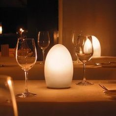 Egg ECO, Cordless Rechargeable Table Lamp For Indoors U0026 Outdoors (NEO C016E)