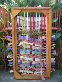 This would be awesome for kids with sensory disorders, so making one for Em's hideaway garden!