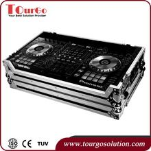 """Tourgo New Mixer Case 19"""" Live Sound Mixer Console for Pioneer DDJ SZ SERATO DJ USB Music Controller with Low-Profile Wheels"""