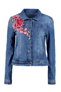 Ava Denim Floral Embroidered Jacket 2019 clothing clothing labels clothing patches clothing wholesale flower clothing fly shirts shirts for ladies shirts sunshine coast style clothing tee shirts clothing Sommer Garten Hochzeits Kleider Lined Denim Jacket, Embroidered Denim Jacket, Embroidered Clothes, Denim Jackets, Outerwear Jackets, Jean Diy, Estilo Jeans, Clothing Patches, Clothing Labels