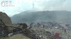Humareda del vertedero de Rafey afecta a cientos de familias en Santiago