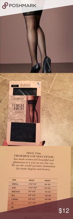 Fredericks of hollywood nude garter slip lace rhinestones bra thigh