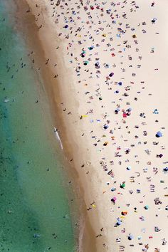 Gray Malin photo | bondi-beach-vertical/aerial beach photos