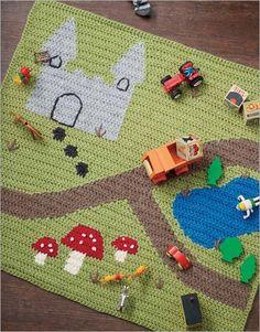 Happy Day Playmat Crochet Pattern Download