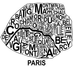 Image Result For Map Of Paris Arrondissements With Attractions