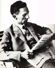Joseph Goebbels in his early 20s