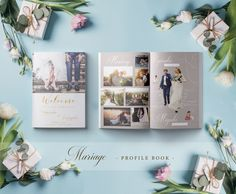 Book Design, Photo Book, Gallery Wall, Marriage, Profile, Weddings, Frame, Books, Casamento